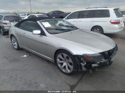 2004 BMW 645 CI AUTOMATIC