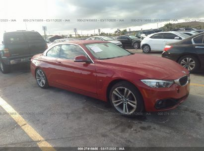 2016 BMW 4 SERIES I/SULEV