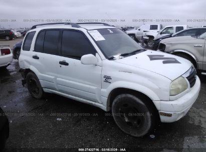 2001 SUZUKI GRAND VITARA JX/JLX/LIMITED/SE