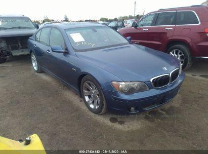 2006 BMW 750 I