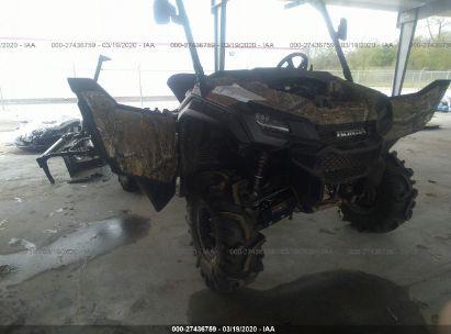 2018 HONDA SXS1000 M5