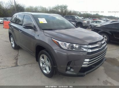 2018 TOYOTA HIGHLANDER LIMITED/LTD PLATINUM