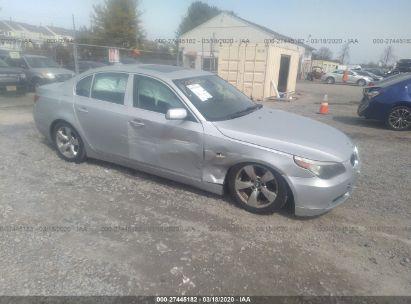 2007 BMW 5 SERIES I