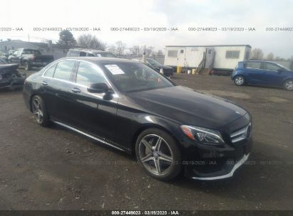 2016 MERCEDES-BENZ C 300 4MATIC