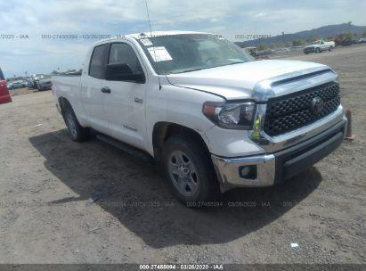 2018 TOYOTA TUNDRA DOUBLE CAB SR/SR5