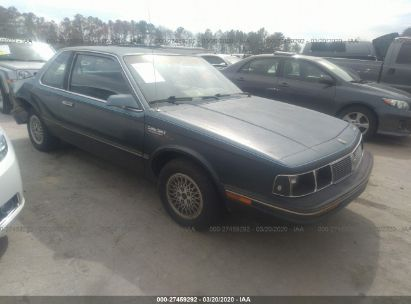 1987 OLDSMOBILE CUTLASS CIERA S