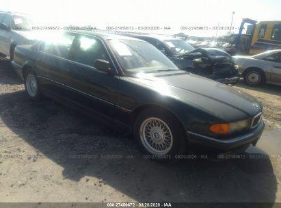 1999 BMW 740 I AUTOMATIC