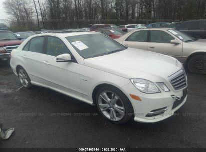 2012 MERCEDES-BENZ E 350 4MATIC