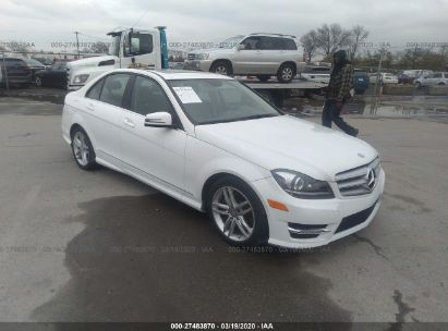 2014 MERCEDES-BENZ C 300 4MATIC