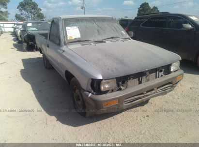 1989 TOYOTA PICKUP 1/2 TON SHORT WHEELBASE