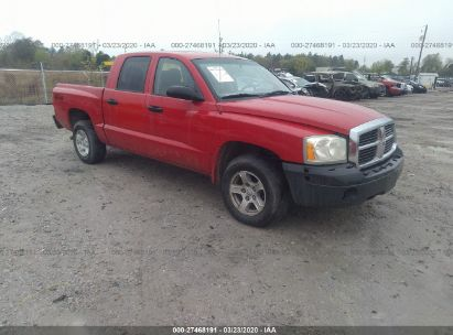 2005 DODGE DAKOTA QUAD SLT