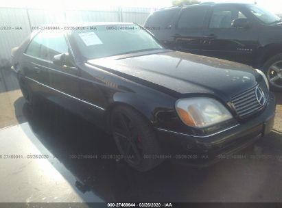 1998 MERCEDES-BENZ CL 500