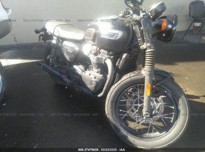 2019 TRIUMPH MOTORCYCLE BONNEVILLE T100