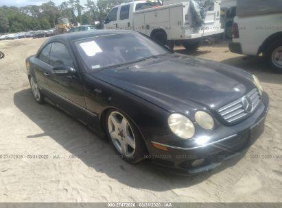 2003 MERCEDES-BENZ CL 600