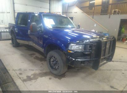 2003 FORD F350 SRW SUPER DUTY