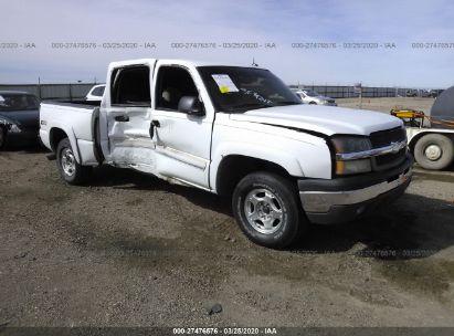 2004 CHEVROLET SILVERADO K1500
