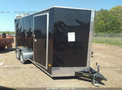 2020 COVERED WAGON TRAILER CW7X16TA2