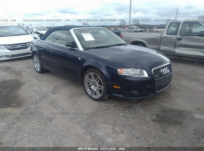 2009 AUDI A4 2.0T CABRIOLET