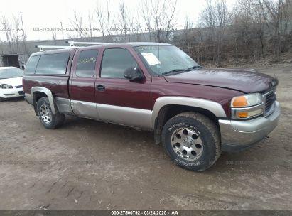 2002 GMC NEW SIERRA K1500
