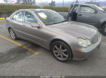 2004 MERCEDES-BENZ C-CLASS 230K SPORT SEDAN