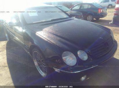 2000 MERCEDES-BENZ CL 500
