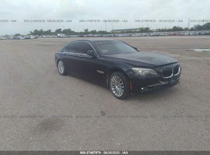 2012 BMW BMW 750 LXI
