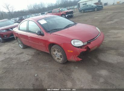 2000 PLYMOUTH NEON LX