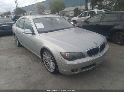 2007 BMW 750 I