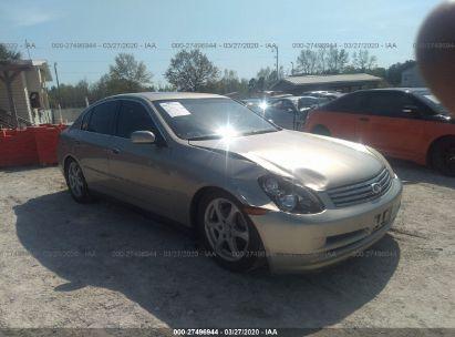 2004 INFINITI G35 SEDAN W/LEATHER