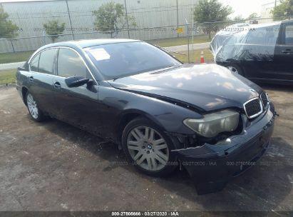 2002 BMW 745 I