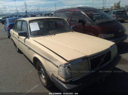 1986 VOLVO 244 DL/GL