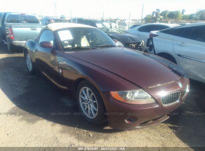 2003 BMW Z4 2.5