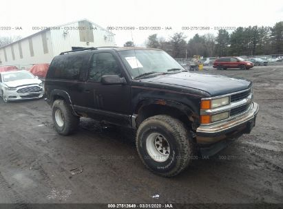 1995 CHEVROLET TAHOE K1500