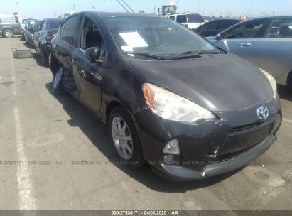 2013 TOYOTA PRIUS C ONE/TWO/THREE/FOUR