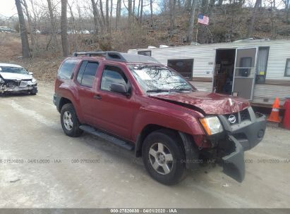 2008 NISSAN XTERRA OFF ROAD/S/SE
