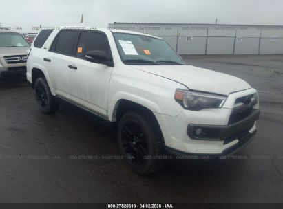 2019 TOYOTA 4RUNNER SR5/LIMITED/LIMITED NIGHT