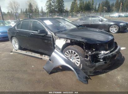 2012 BMW 750 I