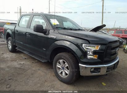 2015 FORD F150 SUPERCREW