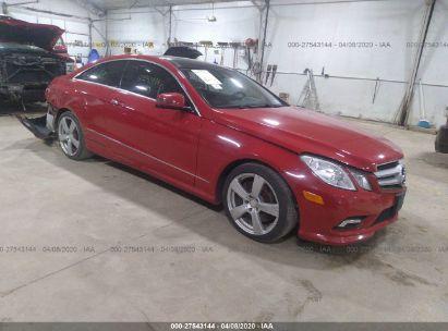 2010 MERCEDES-BENZ E 550