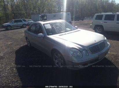 2003 MERCEDES-BENZ E 500