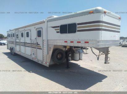2004 4 STAR 5 HORSE SLANT TRAILER