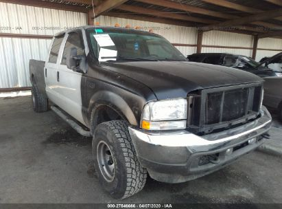 2004 FORD SUPER DUTY F-350 SRW SRW SUPER DUTY