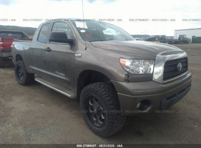 2009 TOYOTA TUNDRA DOUBLE CAB/DOUBLE CAB SR5