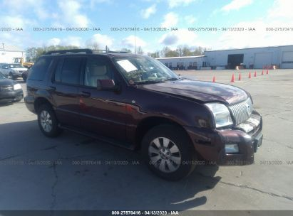 2007 MERCURY MOUNTAINEER LUXURY