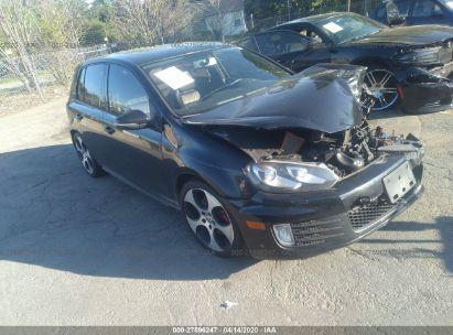 2011 VOLKSWAGEN GTI AUTOBAHN