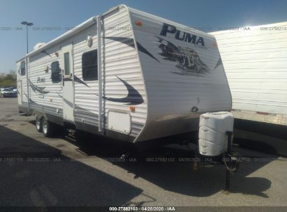2010 FOREST RIVER PUMA 30DBS