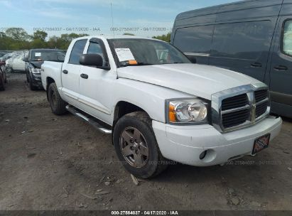 2005 DODGE DAKOTA QUAD LARAMIE
