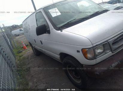 2000 FORD ECONOLINE E250 VAN