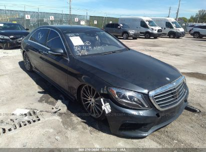 2015 MERCEDES-BENZ S 550 4MATIC