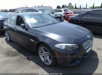 2012 BMW 550 I